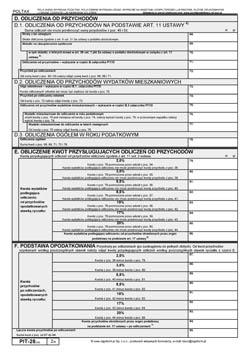 Formularz PIT-28 - strona 2
